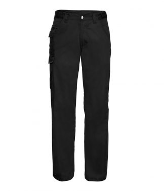 001M - Russell Work Trousers - Black