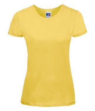 Russell Ladies Slim T-Shirt Yellow XL (155F YEL XL)