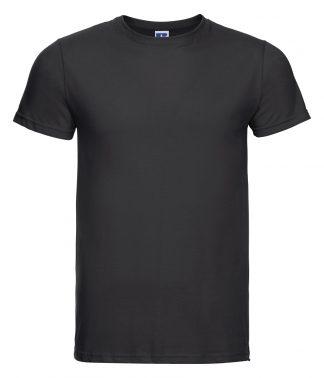 Russell Slim T-Shirt Black XXL (155M BLK XXL)