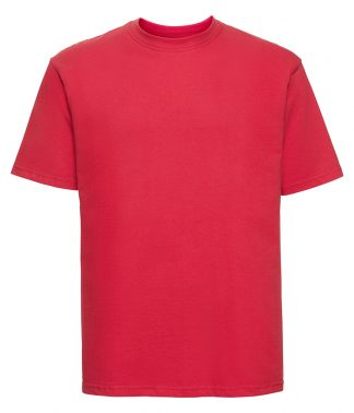 Russell Ringspun T Bright Red XXL (180M BRE XXL)