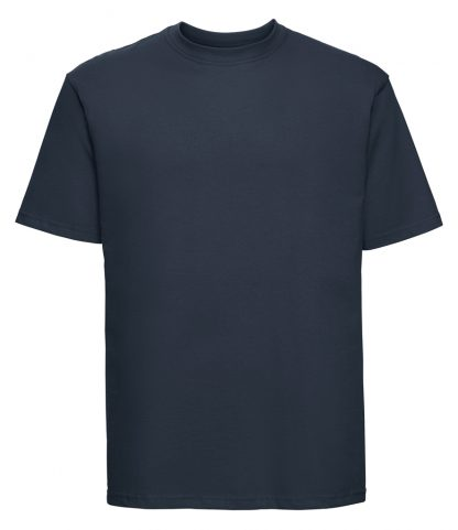 Russell Ringspun T French navy 4XL (180M FNA 4XL)