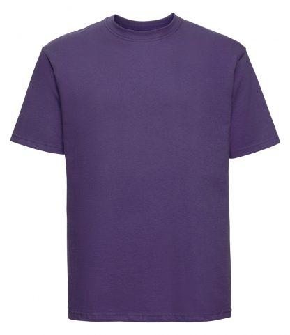 Russell Ringspun T Purple XXL (180M PUR XXL)