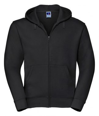 Russell Authentic Zipped Hood Black 4XL (266M BLK 4XL)