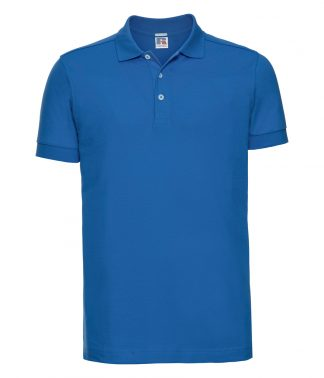 Russell Stretch Polo Shirt Azure 3XL (566M AZR 3XL)