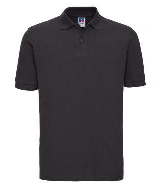 Russell Cotton Pique Polo Shirt Black 4XL (569M BLK 4XL)