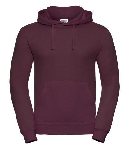 Russell Hooded Sweatshirt Burgundy XXL (575M BUR XXL)