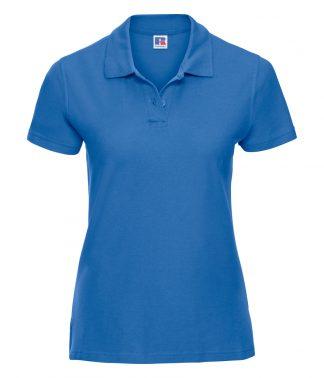 Russell Lds Ultimate Cotton Polo Shirt Azure XXL (577F AZR XXL)
