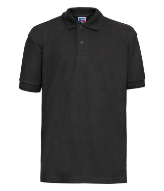 Russell Kids Polo Black 11-12 (599B BLK 11-12)
