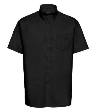 Russell Oxford S/S Shirt Black 21 (933M BLK 21)