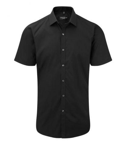 R Coll Ultimate S/S Stretch Shirt Black 4XL (961M BLK 4XL)