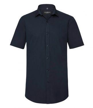 R Coll Ultimate S/S Stretch Shirt Bright navy 4XL (961M BNV 4XL)