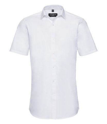R Coll Ultimate S/S Stretch Shirt White 4XL (961M WHI 4XL)