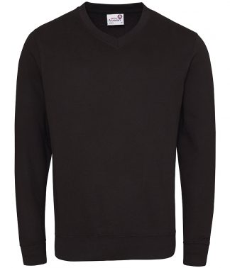 AWD Academy V Neck Sweatshirt Acad. black XXL (AC003 ABK XXL)