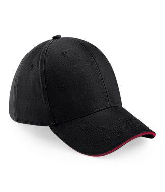B/field Athleisure Cap Blk/cl. red ONE (BB20 BK/CS ONE)