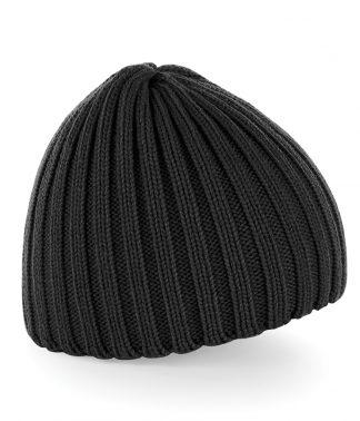 B/field Chunky Knit Beanie Black ONE (BB462 BLK ONE)