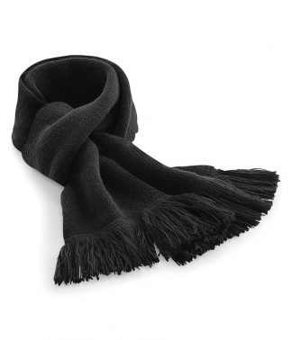 B/field Classic Knitted Scarf Black ONE (BB470 BLK ONE)
