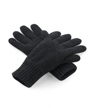 Beechfield Classic Thinsulate Gloves Black L/XL (BB495 BLK L/XL)