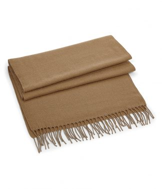 B/field Classic Woven Scarf Biscuit ONE (BB500 BIS ONE)