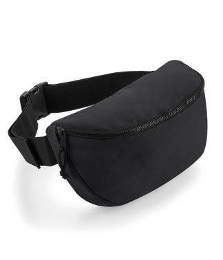 BagBase Oversized Belt Bag Black ONE (BG142 BLK ONE)