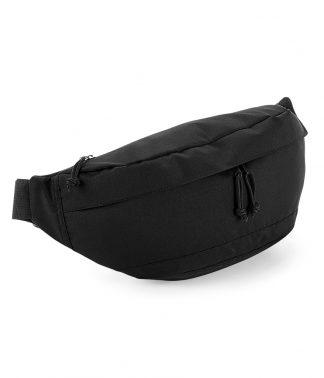 BagBase Oversized Across Body Bag Black ONE (BG143 BLK ONE)