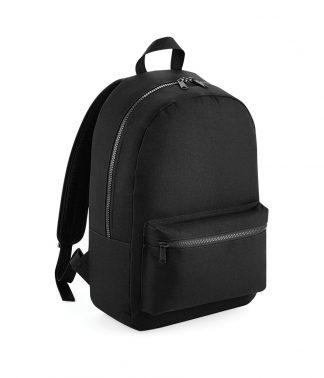 BagBase Essential Fashion Backpack Black ONE (BG155 BLK ONE)