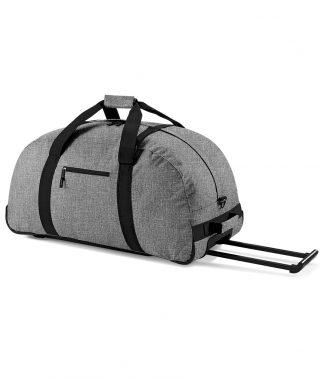 BagBase Wheely Holdall Grey marl ONE (BG23 GYM ONE)