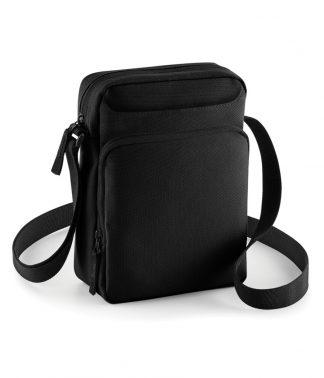 BagBase Across Body Bag Black ONE (BG30 BLK ONE)