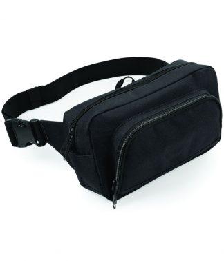 BagBase Organiser Waistpack Black ONE (BG53 BLK ONE)