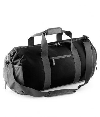 BagBase Athleisure Kit Bag Black ONE (BG546 BLK ONE)