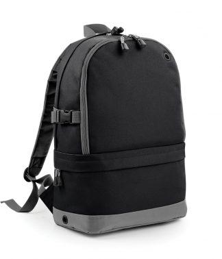 BagBase Athleisure Pro Backpack Black ONE (BG550 BLK ONE)
