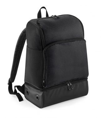 BagBase Hardbase Sports B/pack Black/black ONE (BG576 BK/BK ONE)