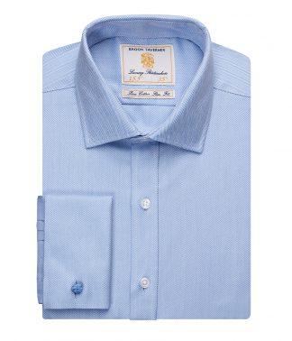 Brook Tav. Prato L/S Shirt Blue 18 (BK102 BLU 18)