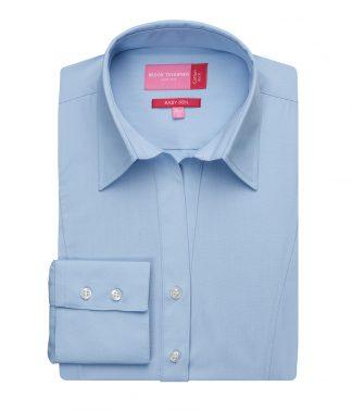 Brook Tav. Lds Palena L/S Blouse Blue 20 (BK151 BLU 20)