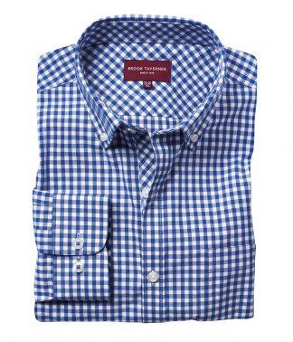 Brook Tav. Montana L/S Shirt Blue 18 (BK580 BLU 18)