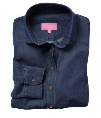 Brook Tav. Lds Banff L/S Shirt Denim 20 (BK585 DNM 20)