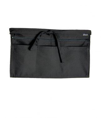 Dennys Zip Pocket Apron Black ONE (DE125 BLK ONE)