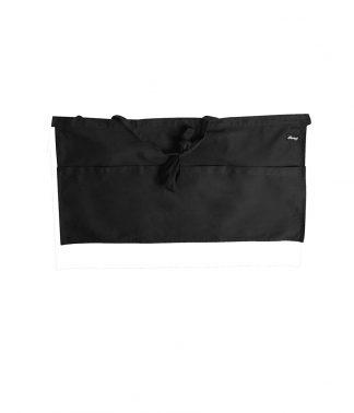 Dennys Money Pocket Apron Black ONE (DE126 BLK ONE)
