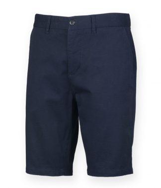 Front Row Stretch Chino Shorts Navy 40 (FR605 NAV 40)