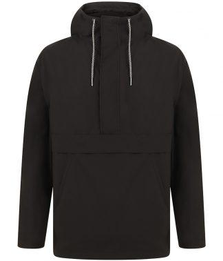Front Row Pullover 1/2 Zip Jacket Black XXL (FR905 BLK XXL)