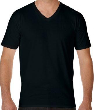 Gildan Premium Cotton V T Black XXL (GD09 BLK XXL)