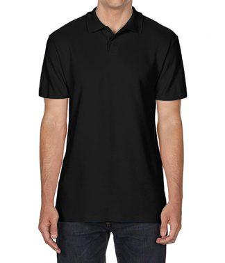 Gildan Softstyle Pique Polo Black 4XL (GD35 BLK 4XL)