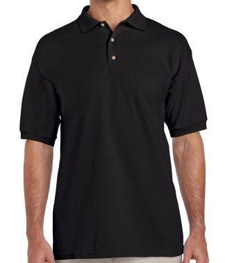 Gildan Ultra Cotton Polo Black XXL (GD38 BLK XXL)