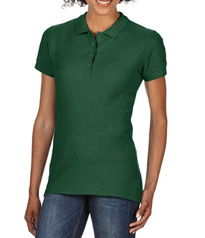 Gildan Ladies Softstyle Pique Polo Forest green XXL (GD75 FOR XXL)