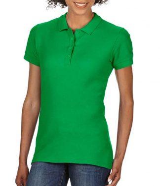 Gildan Ladies Softstyle Pique Polo Irish Green XXL (GD75 IGN XXL)
