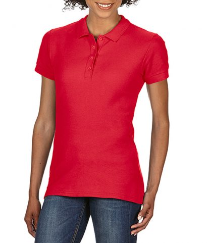 Gildan Ladies Softstyle Pique Polo Red XXL (GD75 RED XXL)