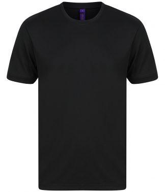 Henbury Hi Cool Performance T-Shirt Black 4XL (H024 BLK 4XL)