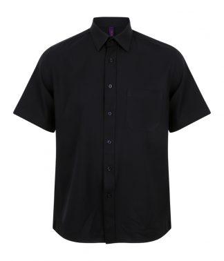 Henbury S/S Wicking Shirt Navy 4XL (H595 NAV 4XL)