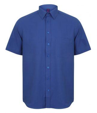 Henbury S/S Wicking Shirt Royal 4XL (H595 ROY 4XL)