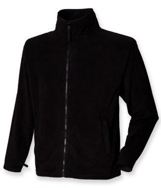 Henbury Micro Fleece Jacket Black 3XL (H850 BLK 3XL)