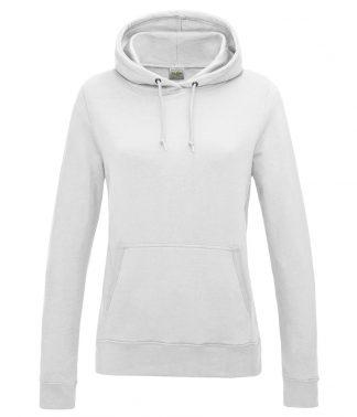 AWDis Womens College Hoodie Arctic White XXL (JH001F ACW XXL)